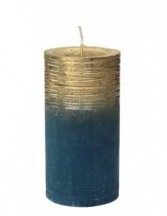 Candela rustica Blu con...